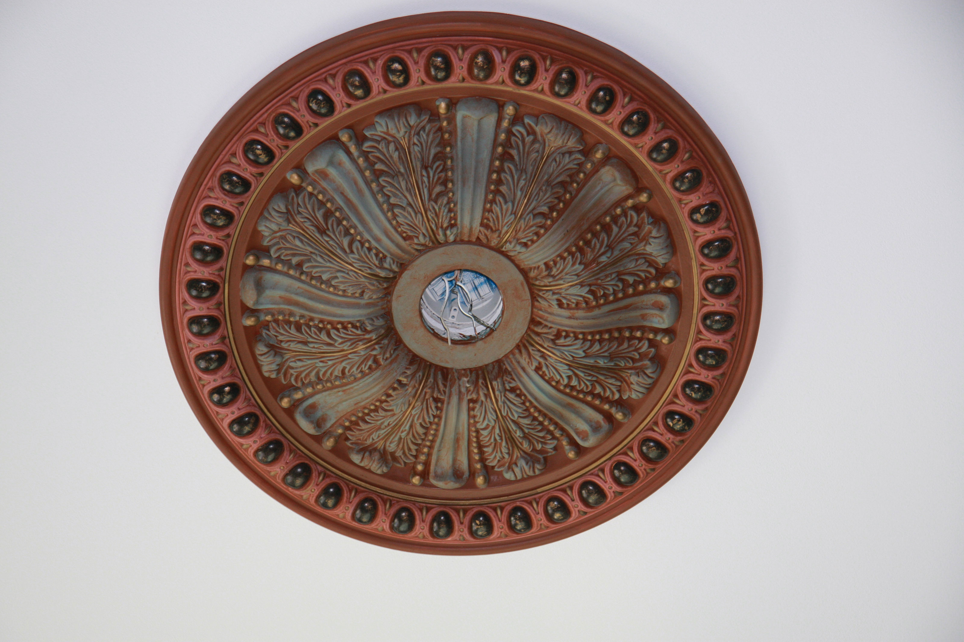 Custom Finished Ceiling Medallions - Project Pictures ...