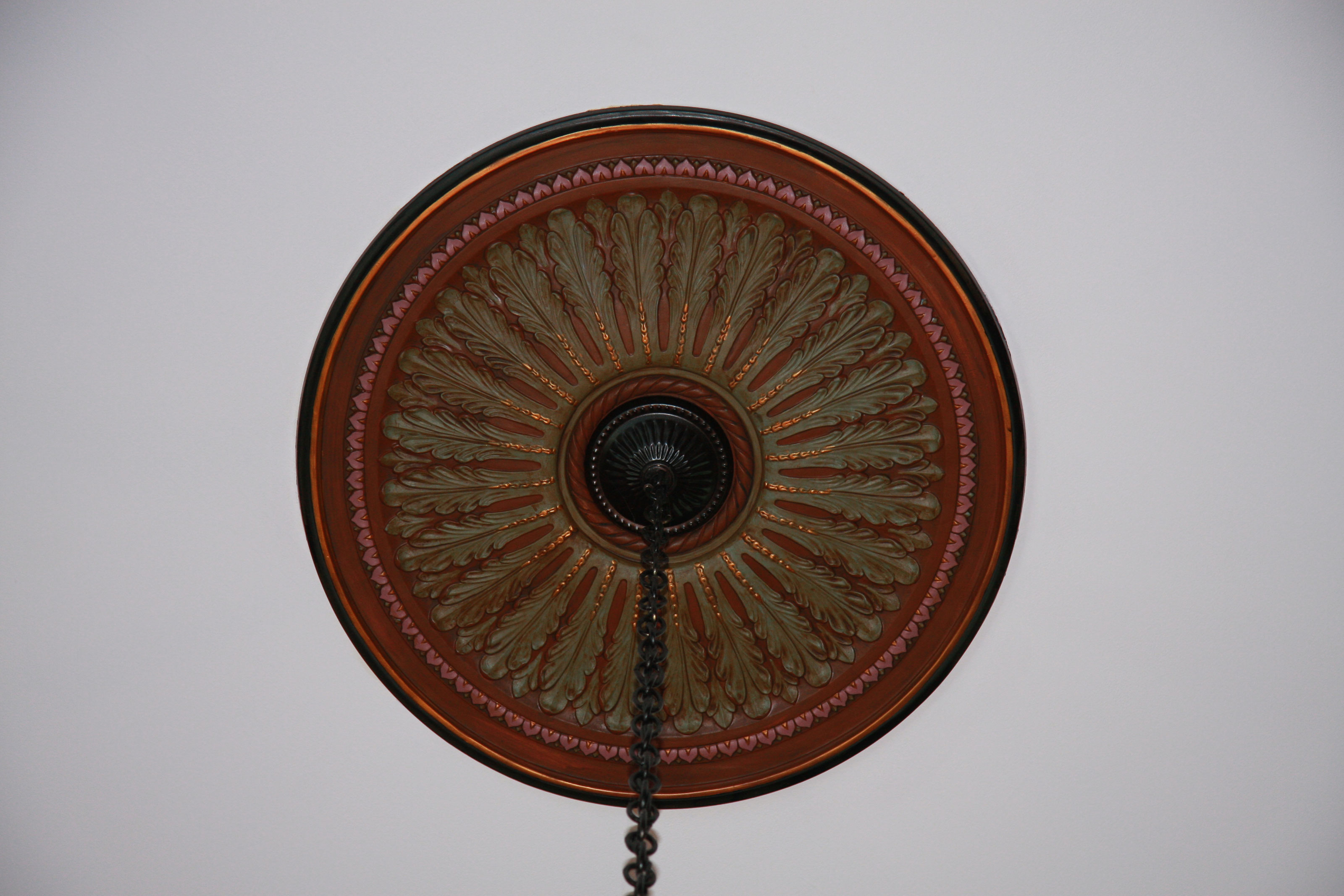 Custom Finished Ceiling Medallions Project Pictures