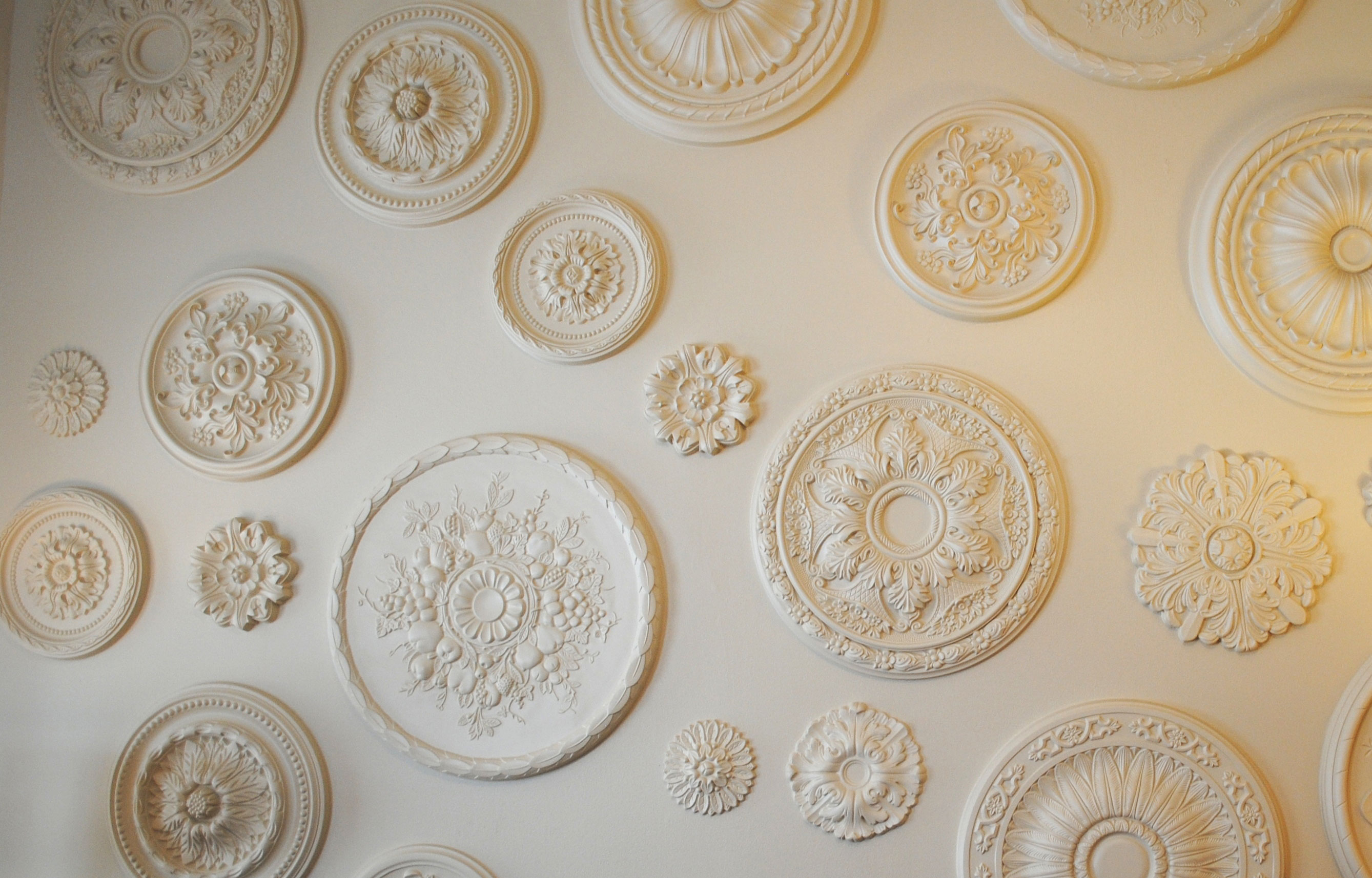 Wall Medallion Project Project Pictures Architectural
