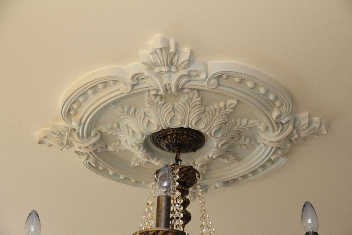 Benson Classic Ceiling Medallion Project Pictures