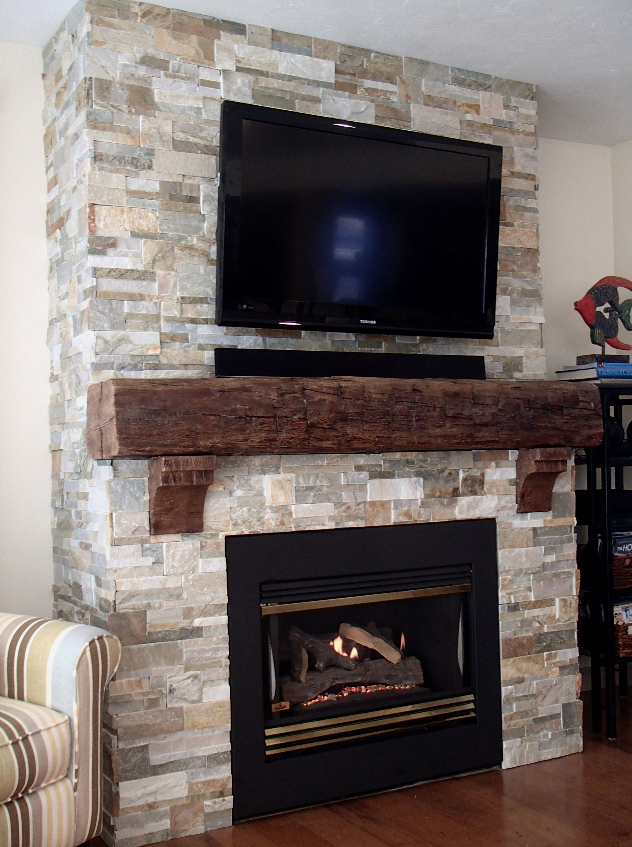 Rustic Wood Corbel Project Pictures | Architectural Depot