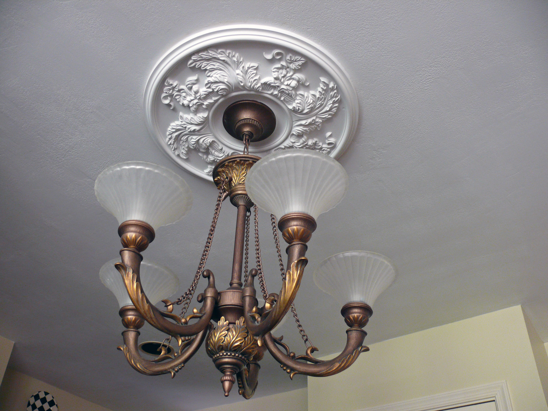 Acanthus Twist Ceiling Medallion Project