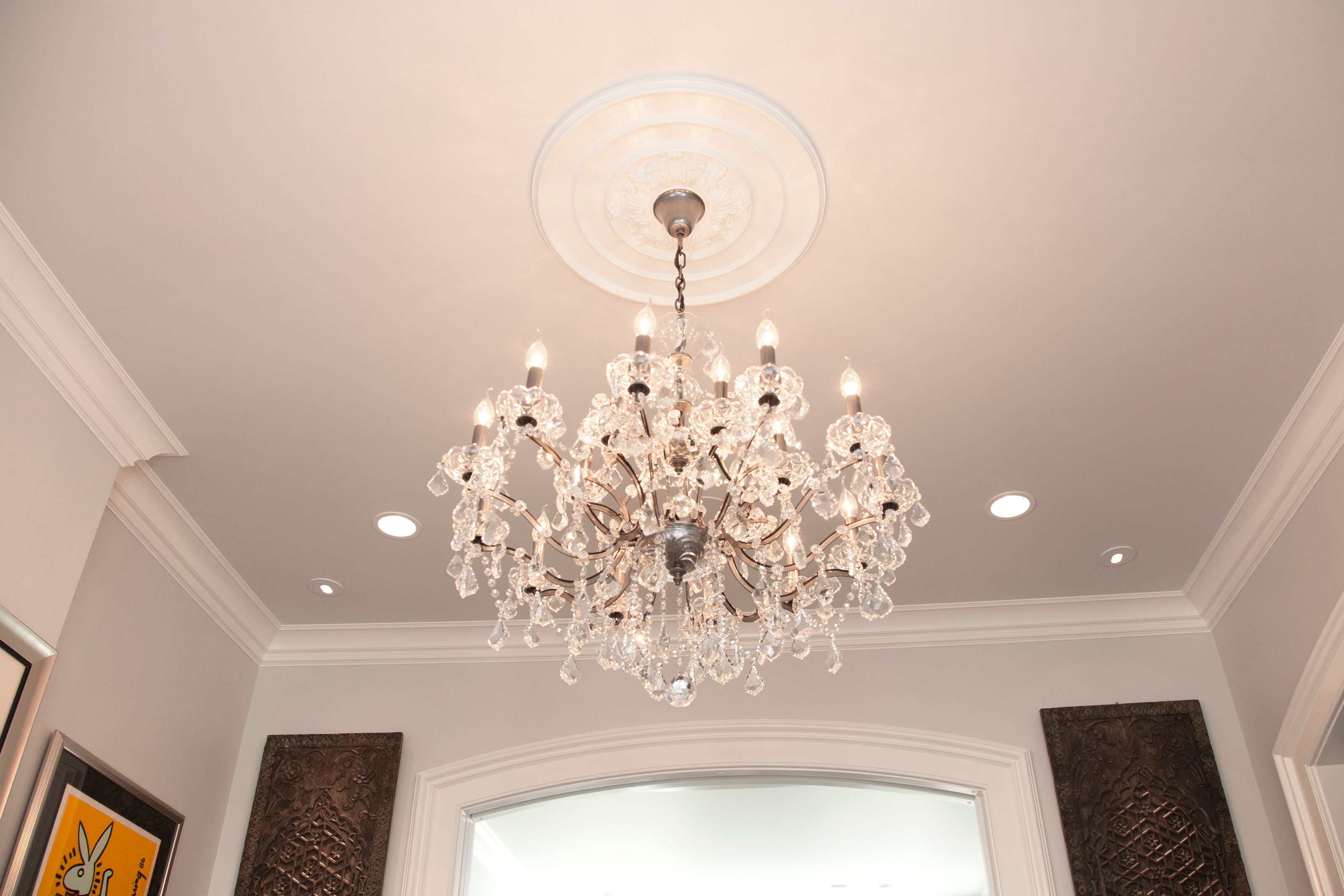 Traditional Ceiling Medallion Project Pictures