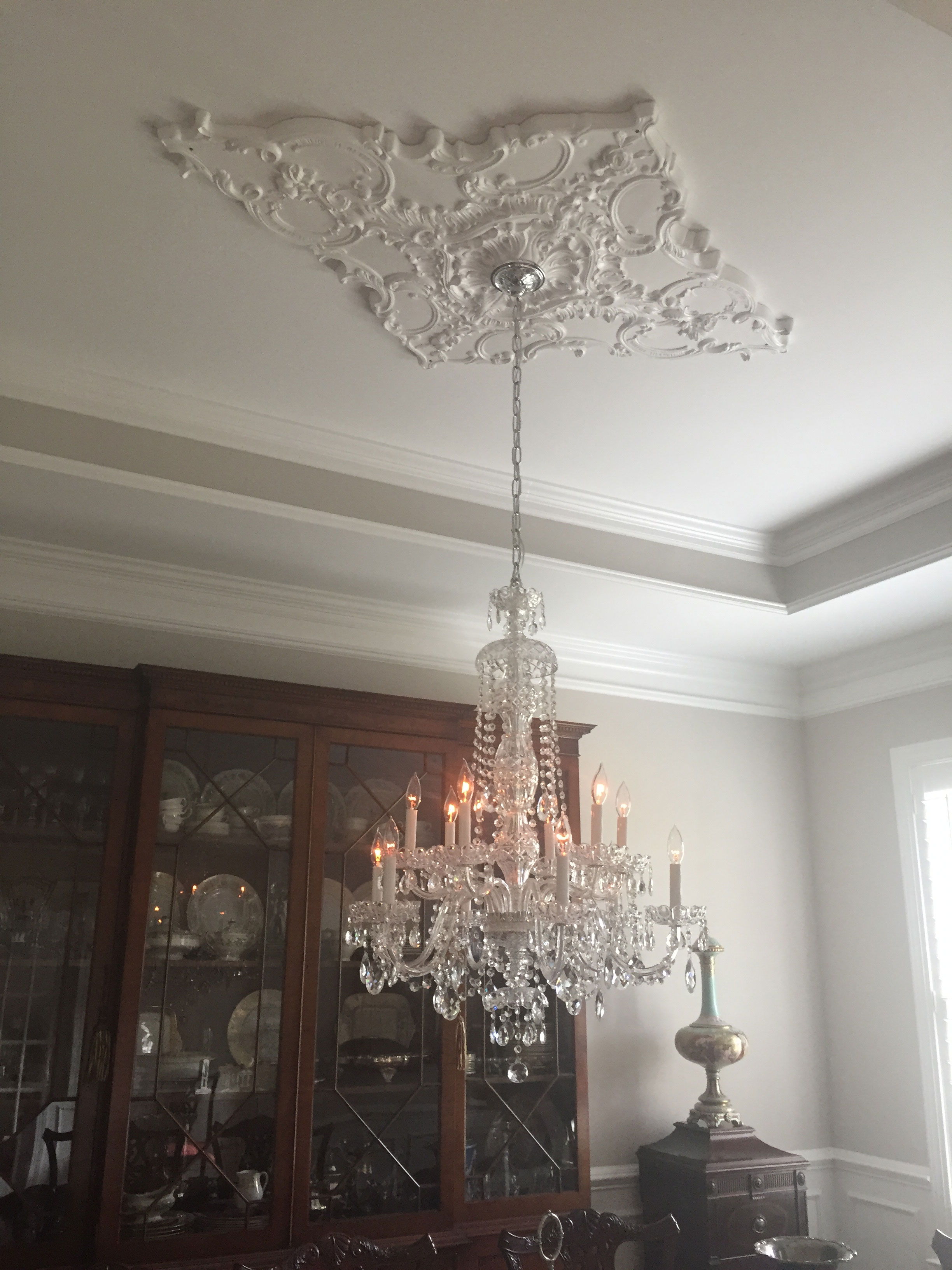 product medallion round to add wishlist loading chandelier glass