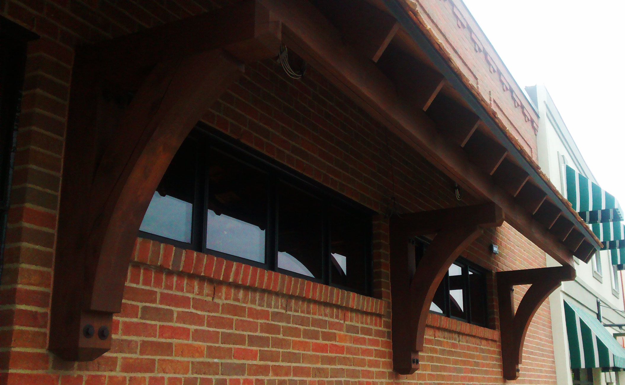 Thorton wood bracket project architectural depot - Exterior structural wood brackets ...