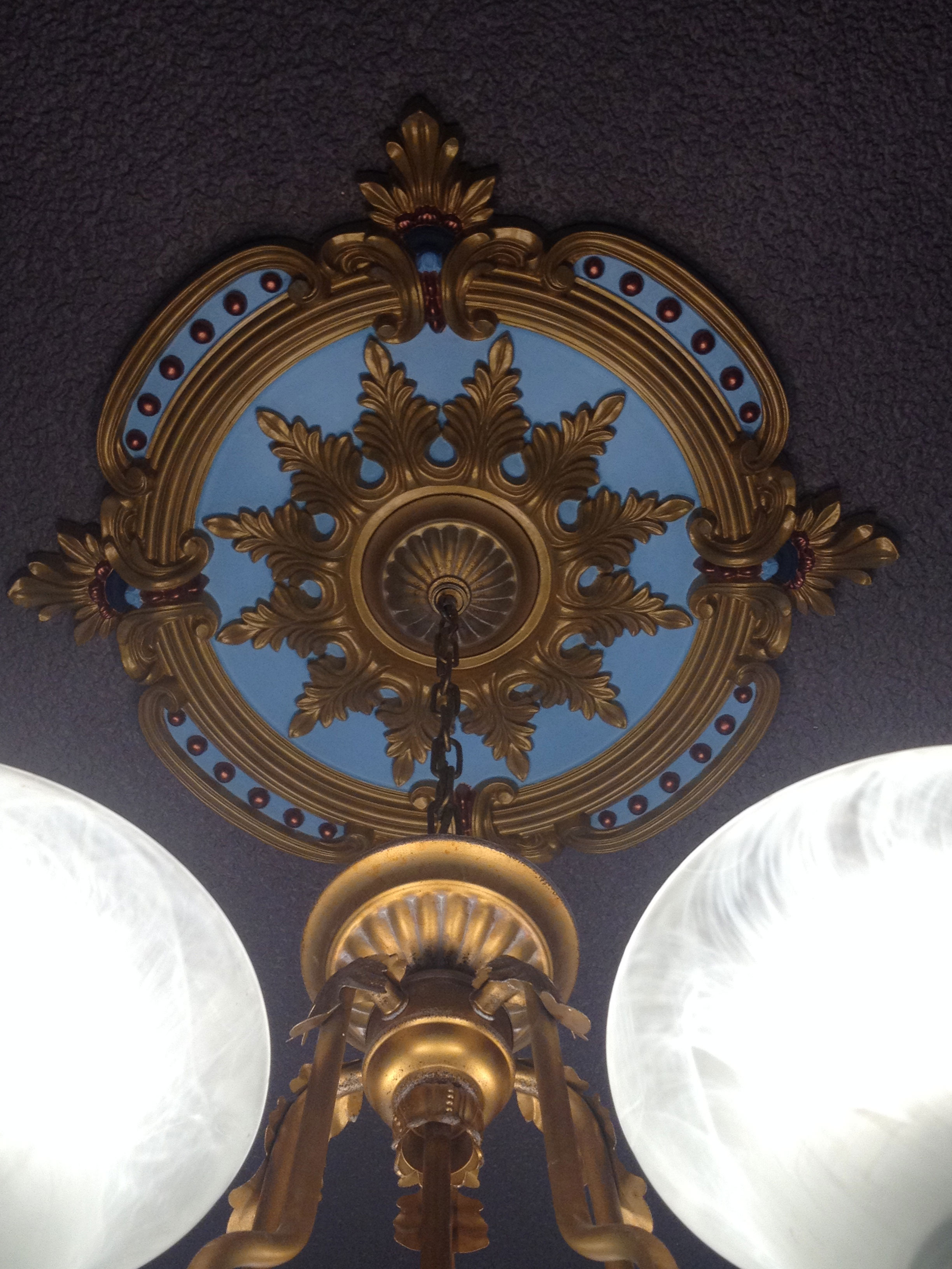 how a ceiling to painted destashio medallion beautiful paint