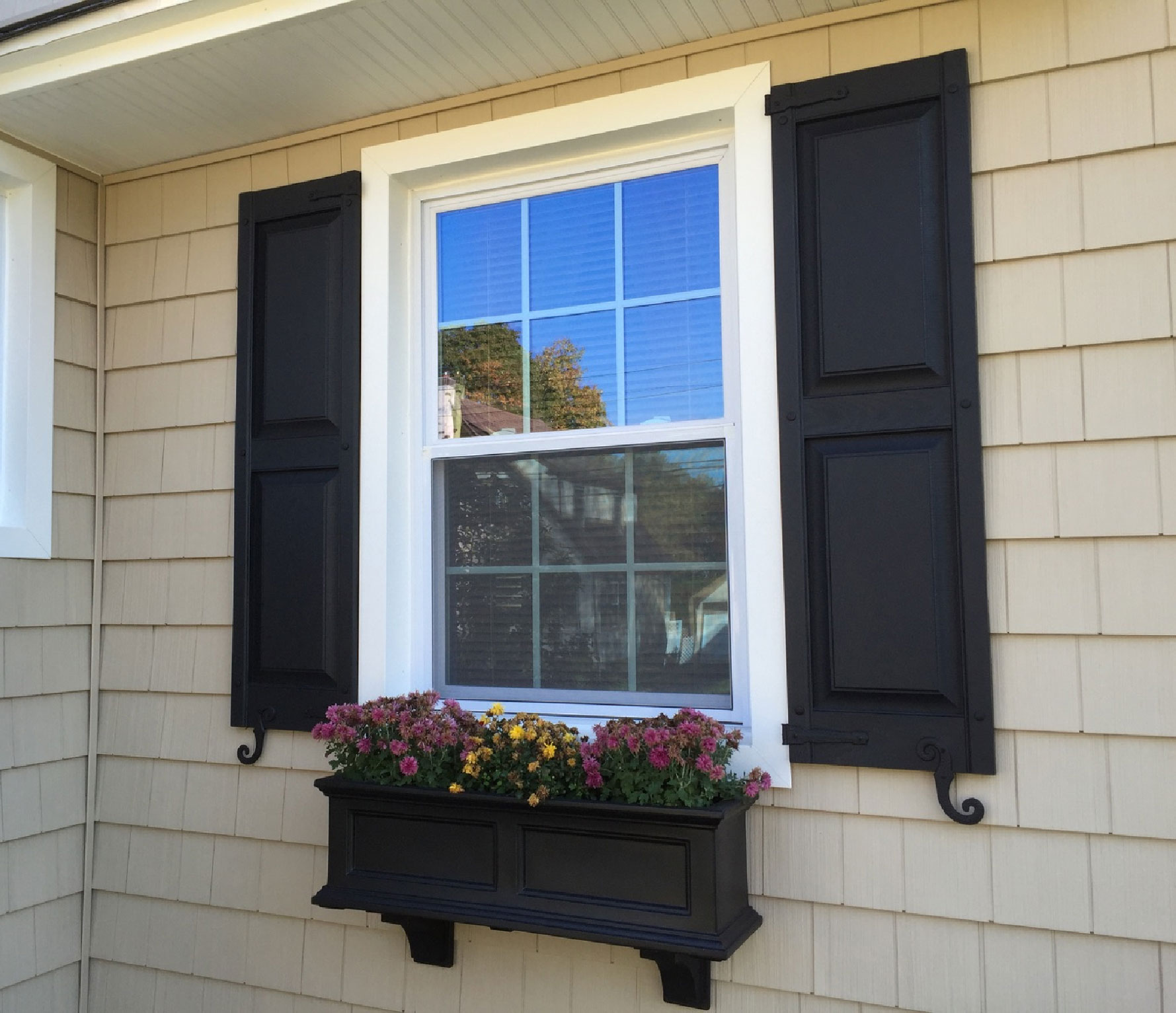 Shutters And Planter Box Project