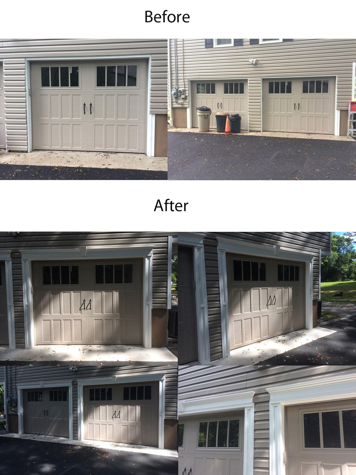 Crossheads Garage Door Project Architectural Depot
