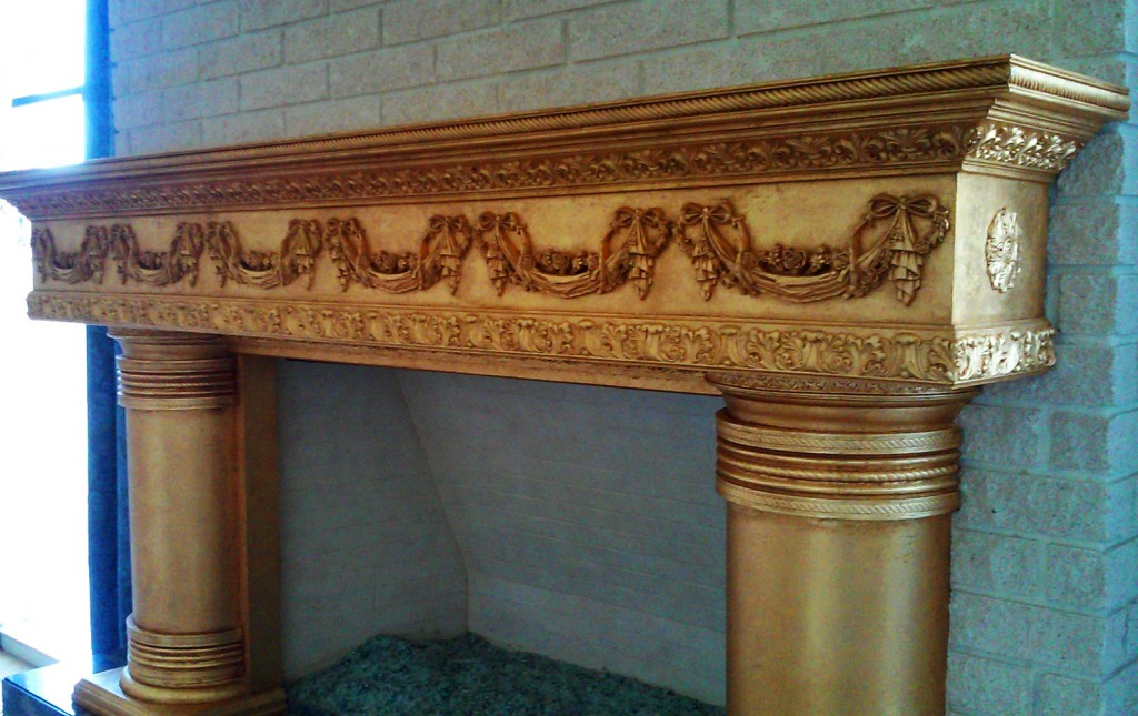 fireplace-mantel-chair-rail-moulding-casing-onlays