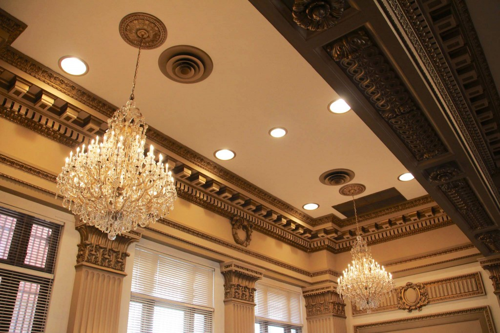 tomago-egg-and-dart-medallion-chandeliers