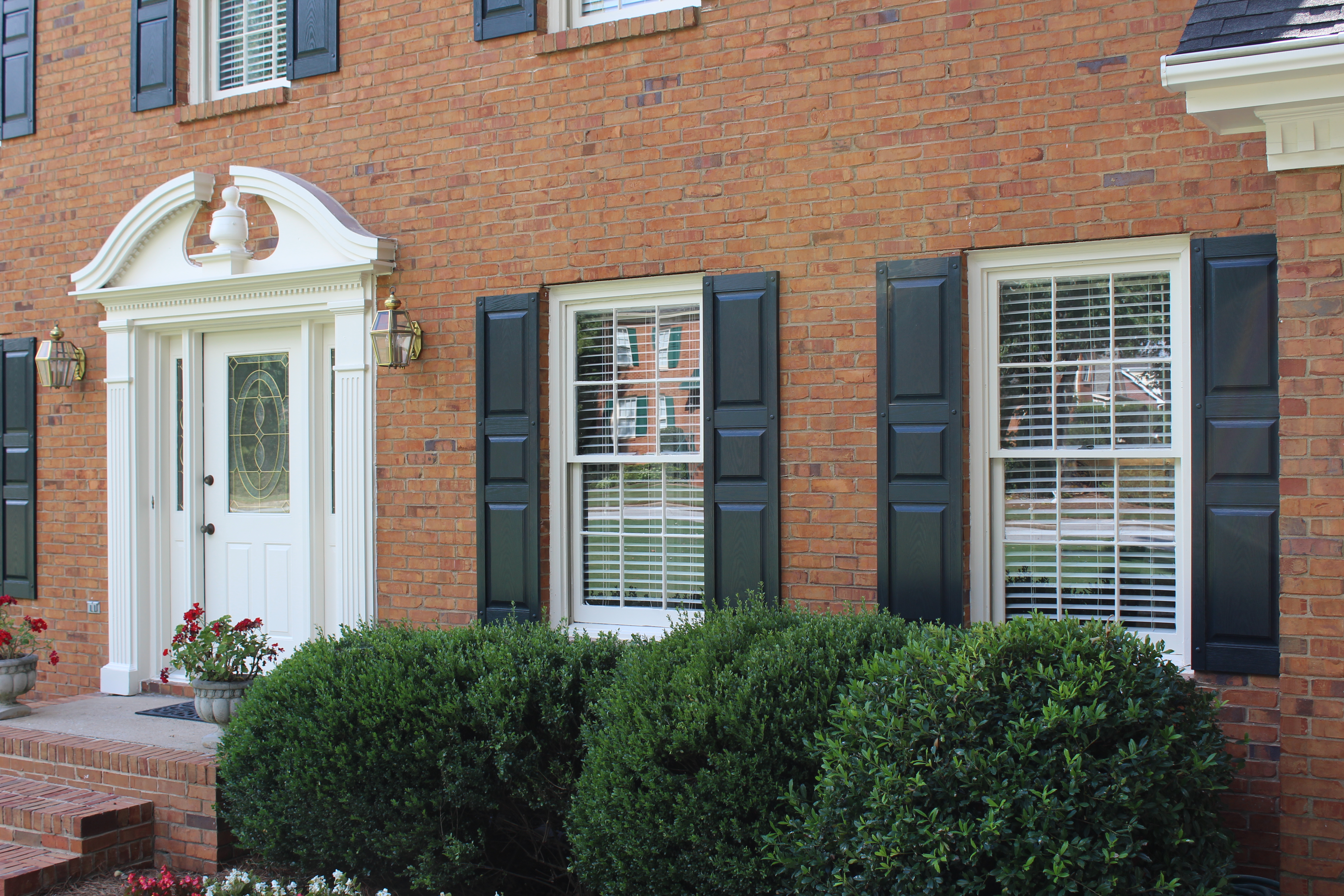 Three Panel Window Shutters Project