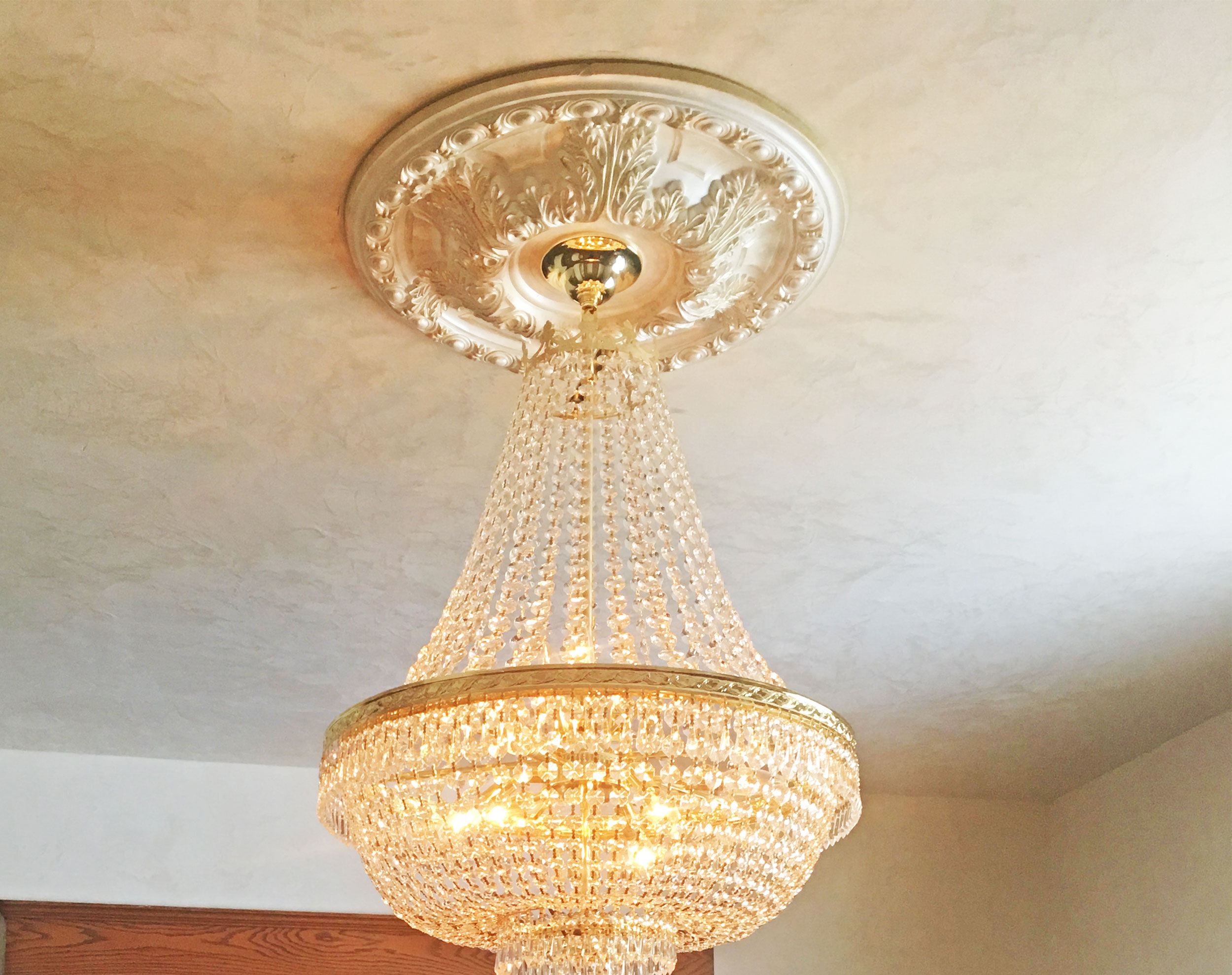 size chandelier ceiling home rectangle medallion lowes square medallions light depot small