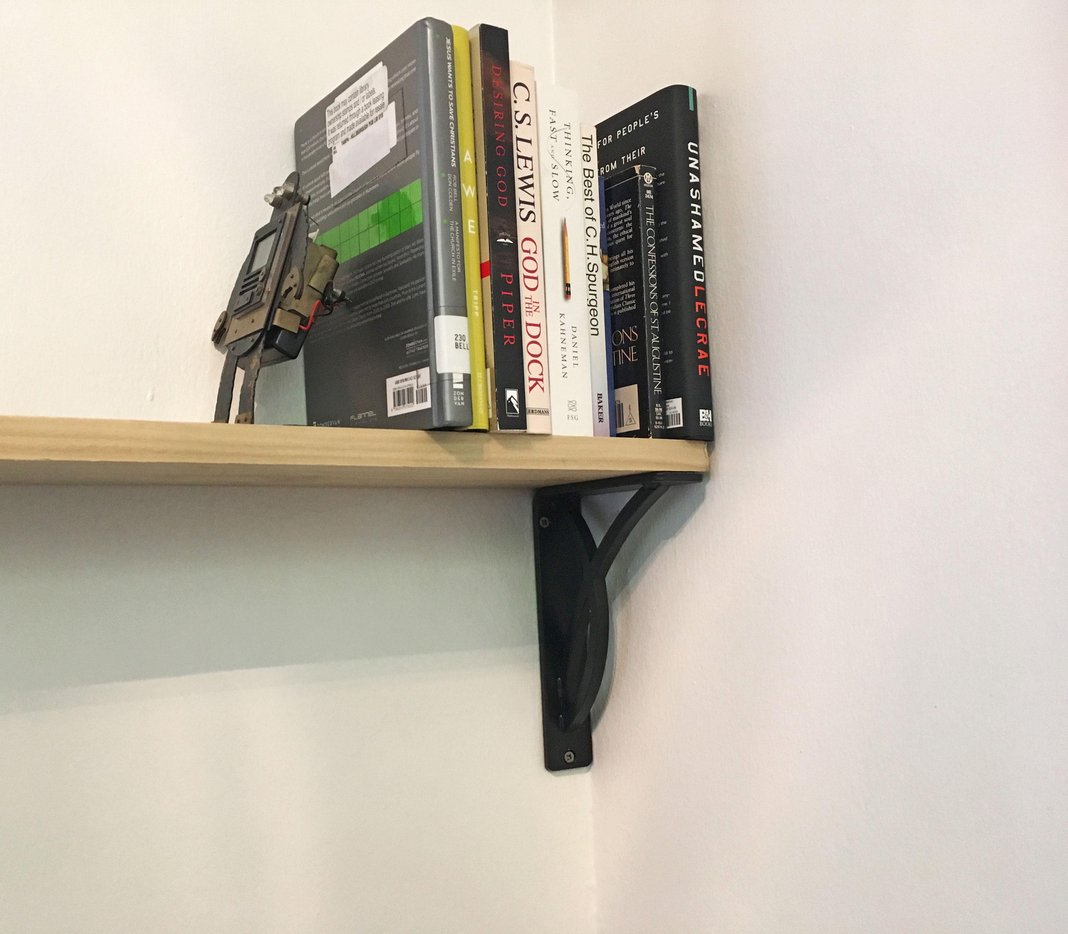 ekena millwork miller brackets for bookshelves Bookshelves Brackets for March Glass Shelf Brackets and Clamps