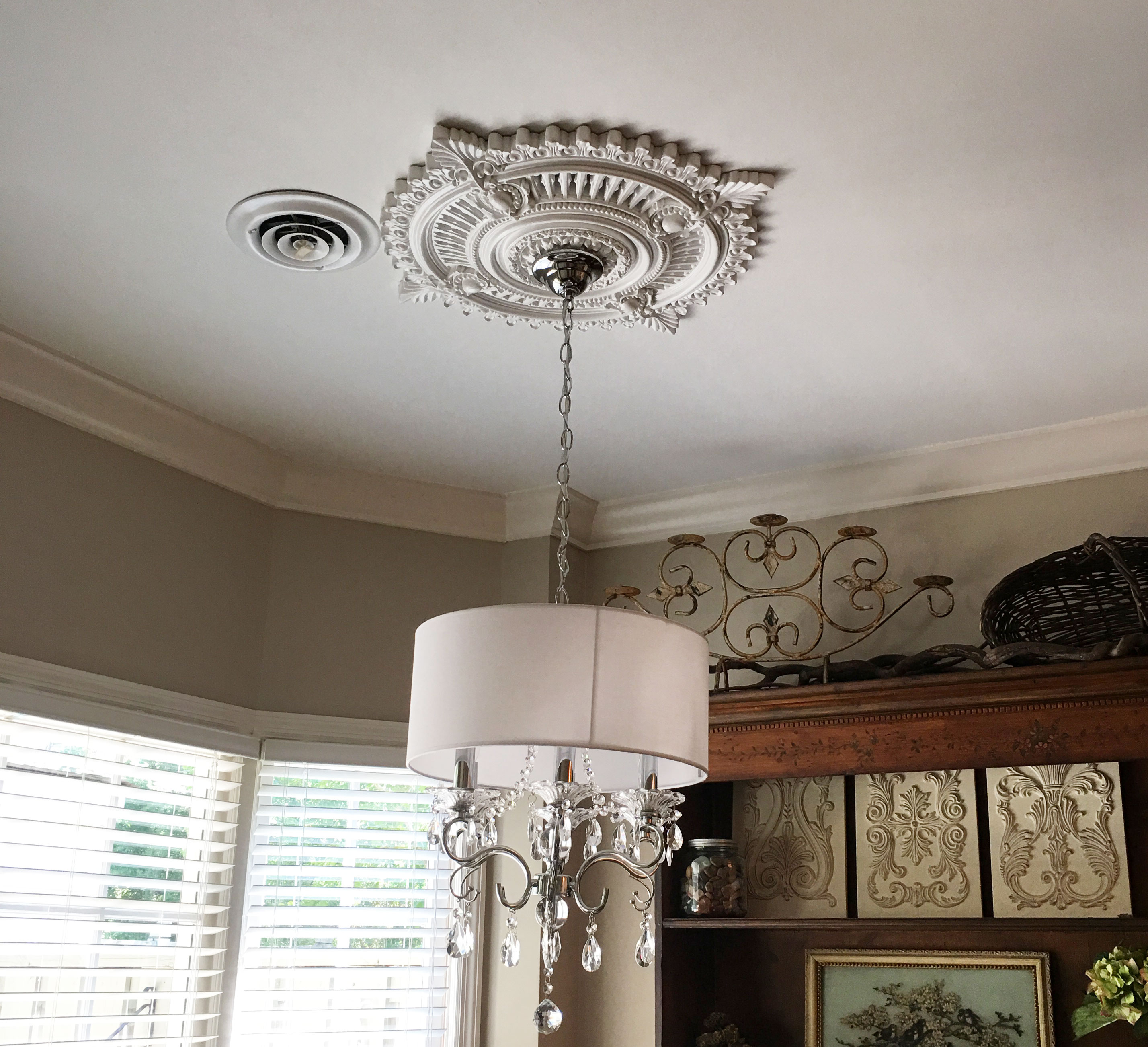 p medallion ceiling in millwork tyrone the piedmont medallions ekena