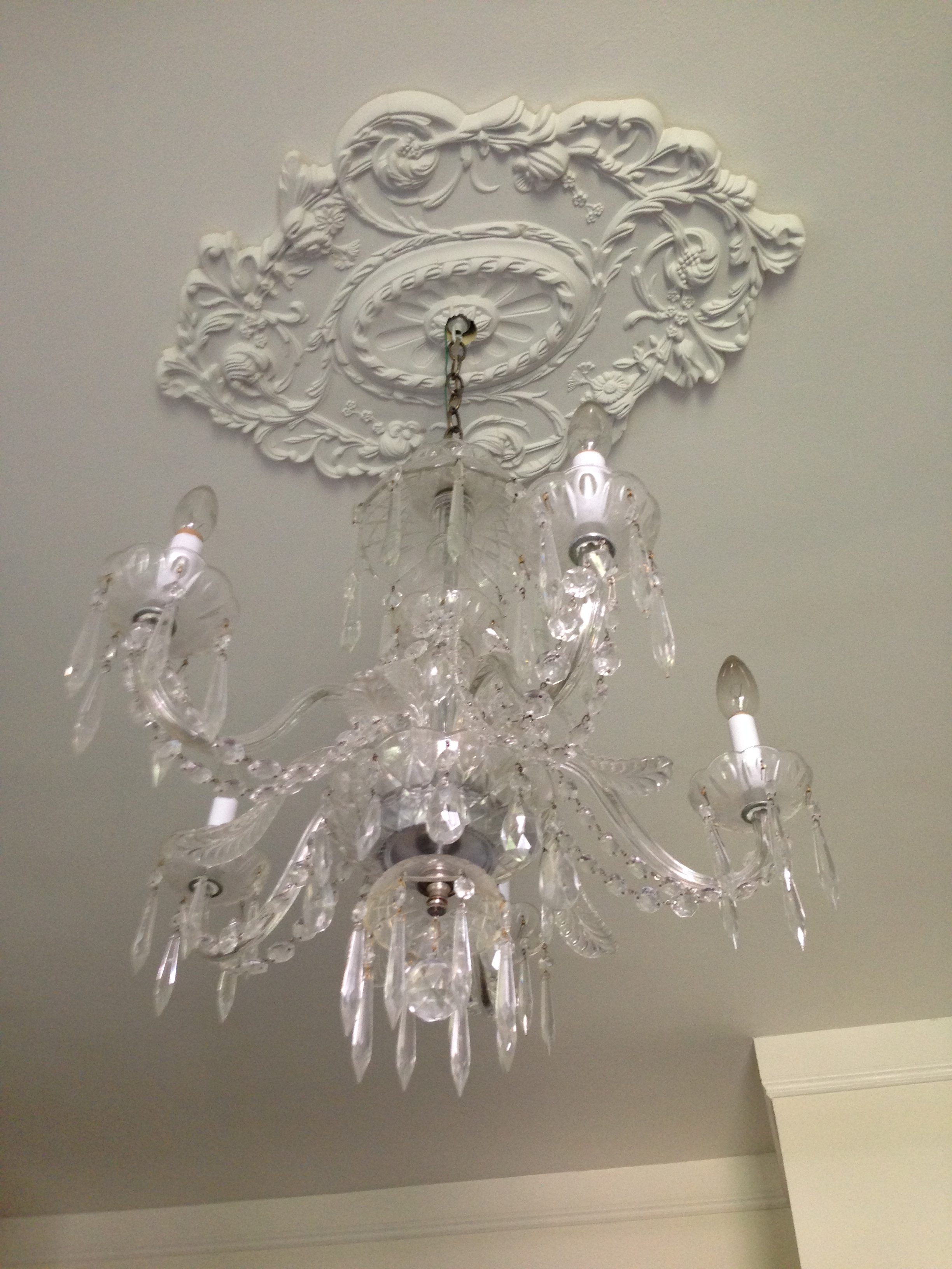 chandelier medallions medallion pin beautiful ekena millwork chandeliers and ceilings with ceiling a